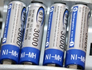 Rechargeable AA NI-MH Battery